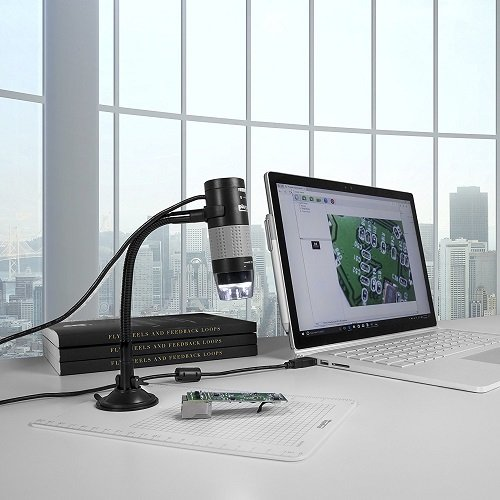 USB Digital Microscope Lets You Magnify Things By 250x