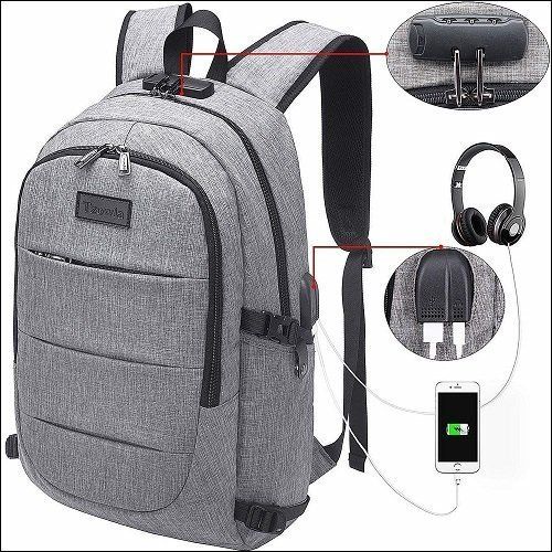 Anti Theft Waterproof Laptop Backpack