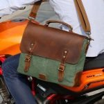 Leather and Canvas Messenger Bags