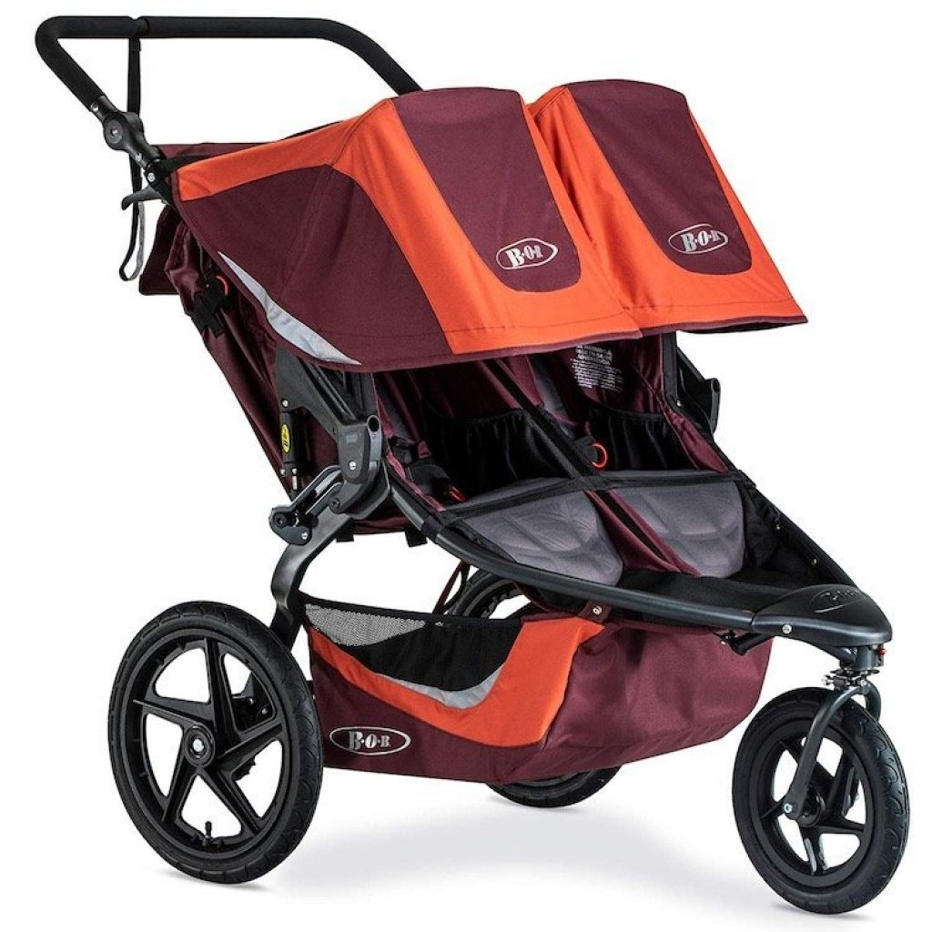 Side By Side Double Stroller For Infant And Toddler