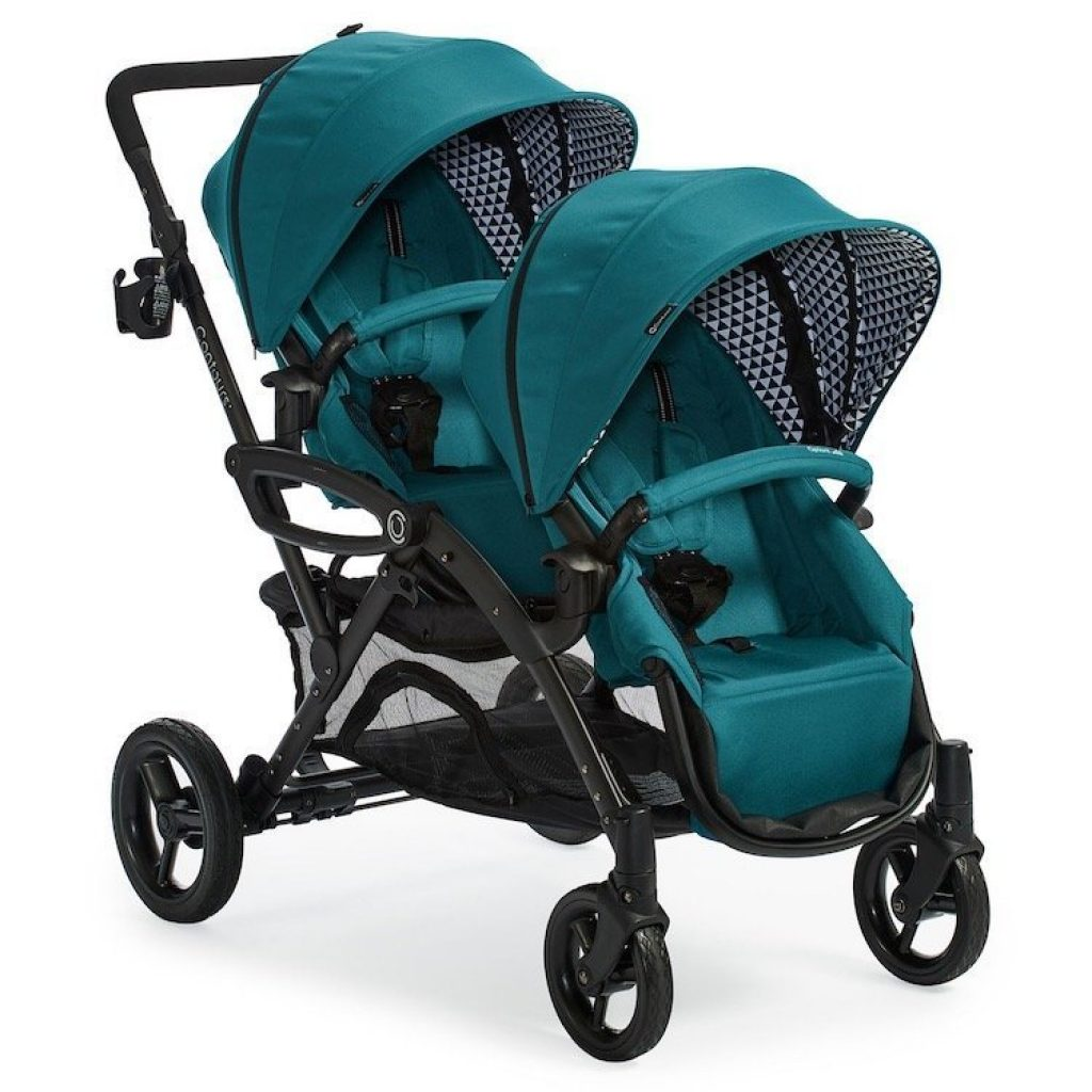 Tandem Double Stroller For Infant And Toddler