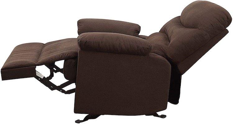 Comfortable Microfiber Rocker Recliner Chairs