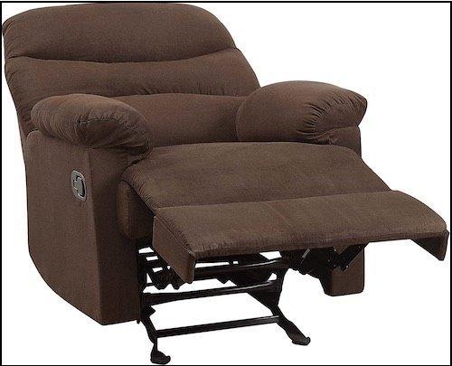 Microfiber Rocker Recliner Chairs