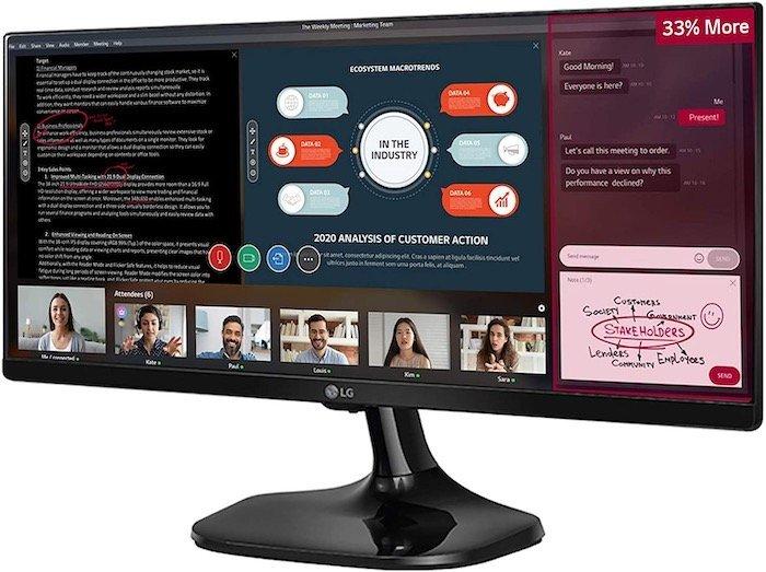 LG 25UM58-P 25-Inch 21:9 Monitor